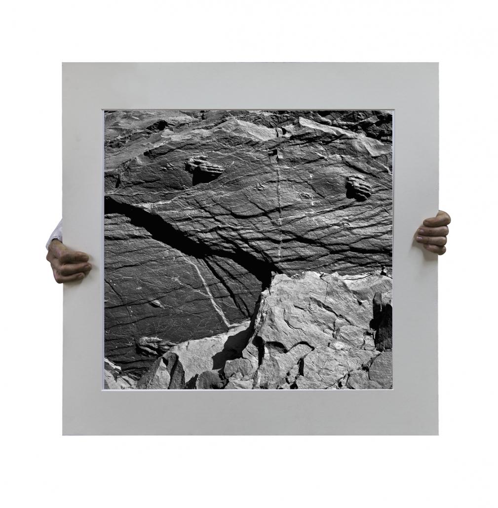Autoretrato-con-huellas-de-dinosaurio-stampa-ink-on-archival-cotton-paper-70x70-cm-La-Rioja-Buenos-Aires-2014