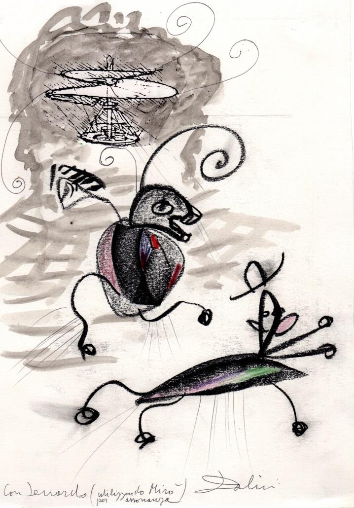 Senza titolo, tecnica mista su carta, 2000, cm 29,5 x 21
