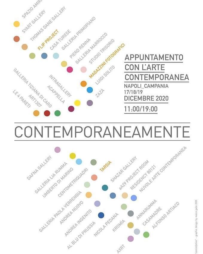 locandina CONTEMPORANEAMENTE