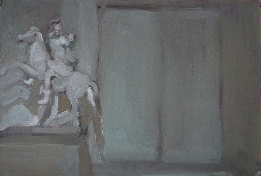 Museo_olio su carta_cm17x25_2020