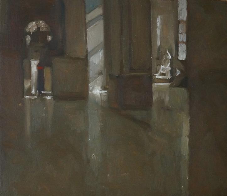 Museo_olio su tavola_cm21,5x25_2020