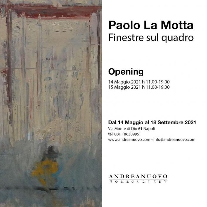 Paolo La Motta - Finestre sul quadro