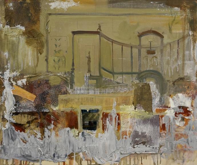 Pompei_tecnica mista su tavola_cm50x60_2021