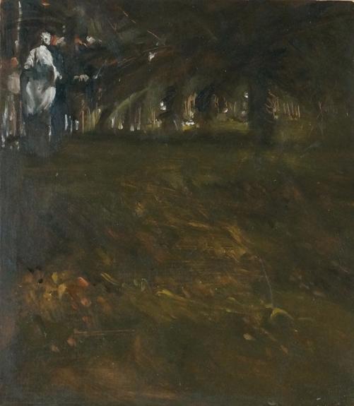 Villa_olio su tavola_cm24,5x21,5_2020