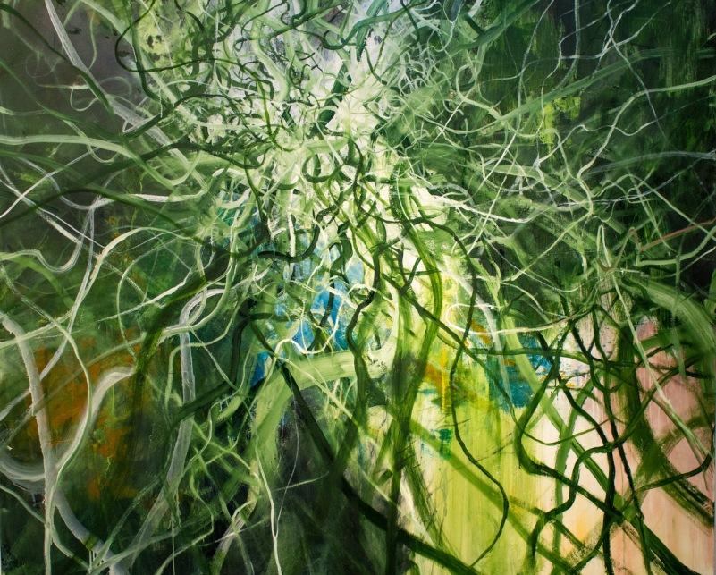 Synapses_oil on canvas_183 x 4 cm x 152 cm_2021